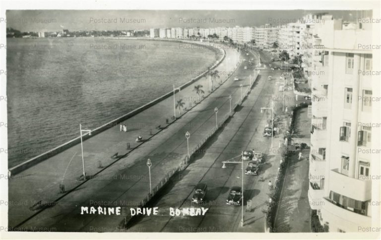 ind115-Marine Drive Bombay