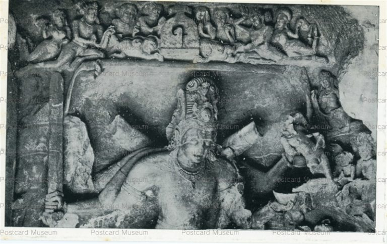 ind504-Elephanta Cave 1 Archaeological Survey of India