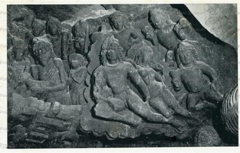 ind510-Elephanta Cave 1 Archaeological Survey of India