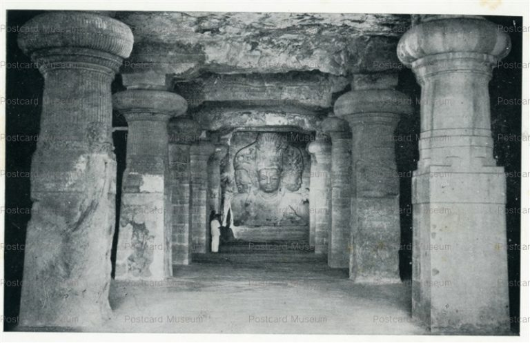 ind511-Elephanta Cave 1 Archaeological Survey of India