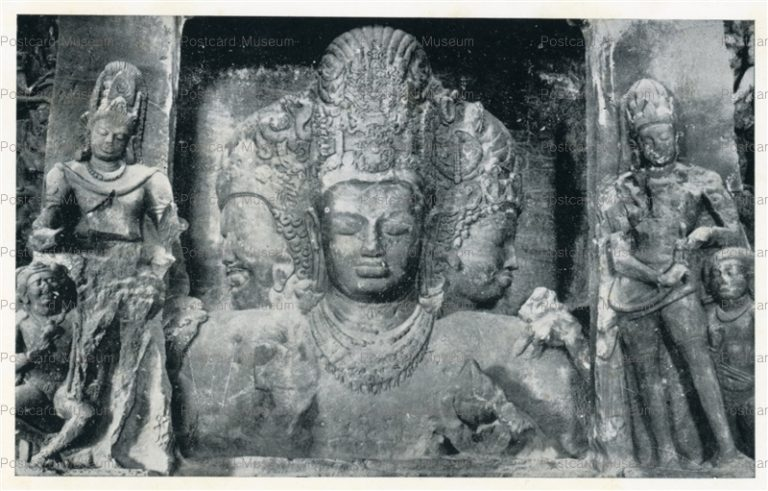 ind513-Elephanta Cave 1 Archaeological Survey of India
