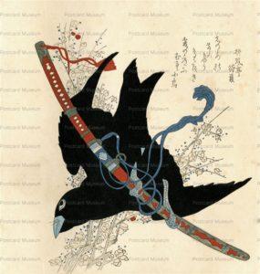 ukt360-烏と刀