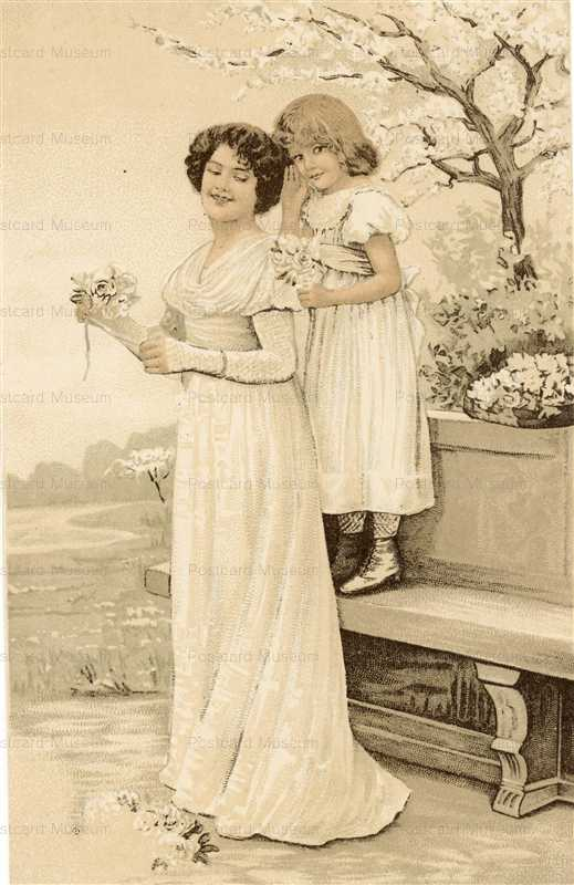 abc070-Mother with Girl Under Blossom1