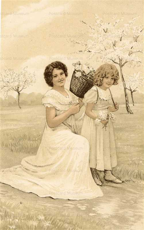 abc072-Mother with Girl Under Blossom3