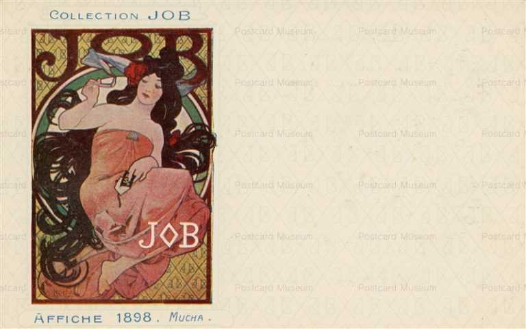 am008-Collection JOB Affiche 1898 Alphons Mucha