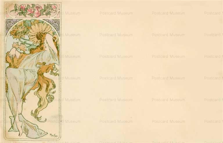 am036-Summer 1900 Alphons Mucha