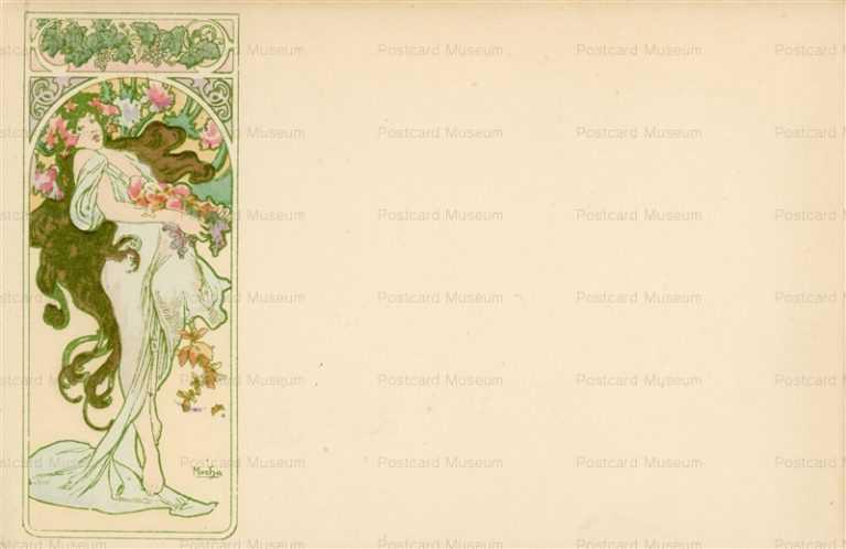 am037-Autumn 1900 Alphons Mucha
