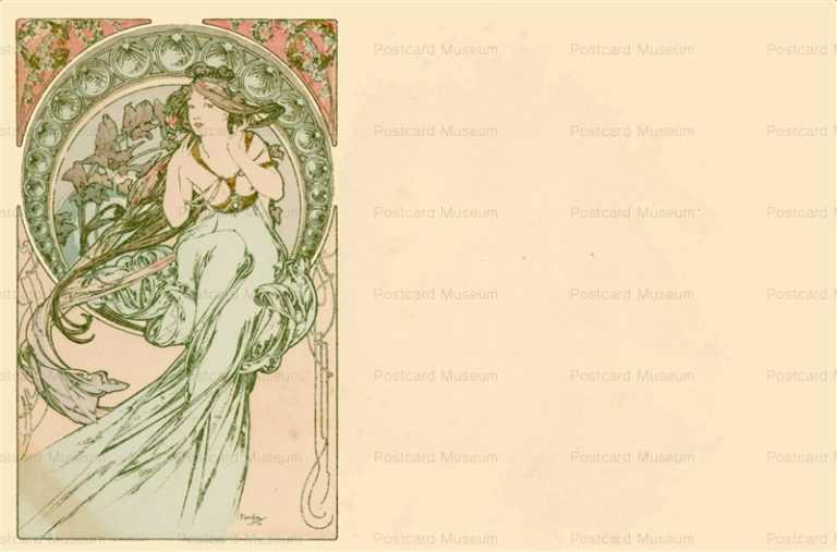 am042-Music 1900 Alphons Mucha