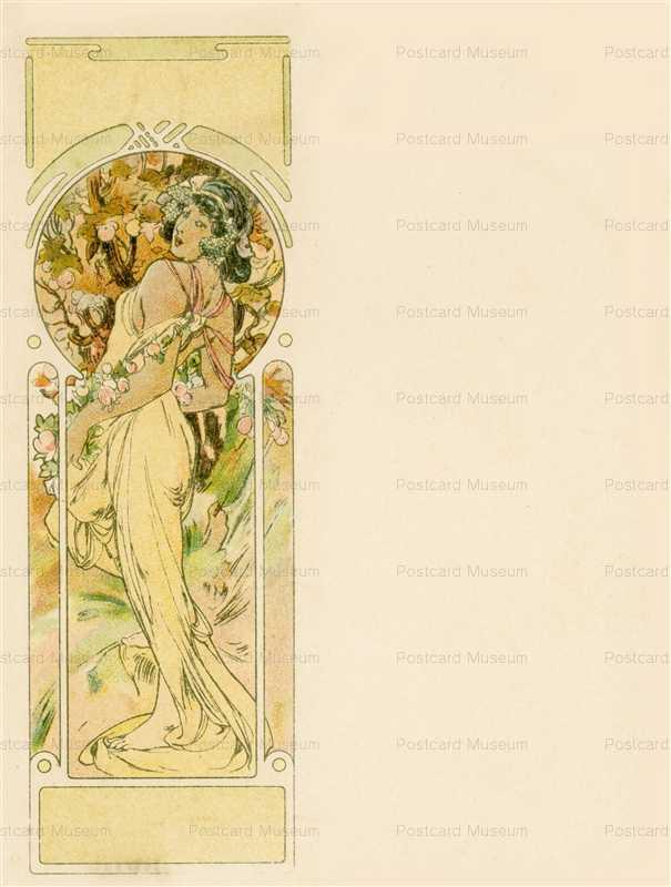 am049-Summer 1900 Alphonse Mucha