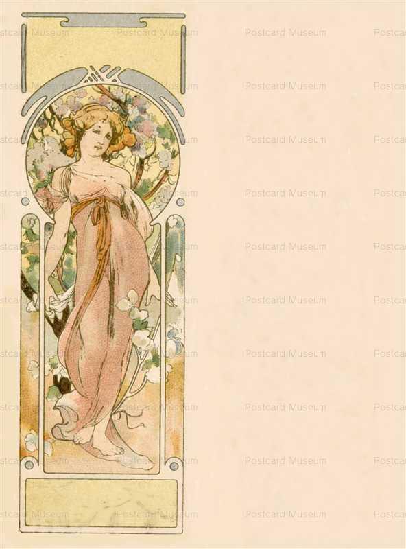 am050-Autumn 1900 Alphonse Mucha