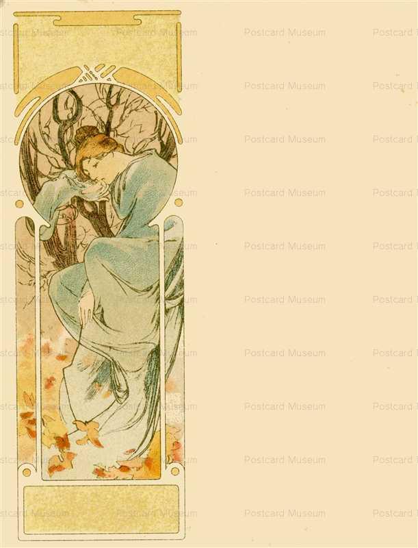 am051-Winter 1900 Alphonse Mucha