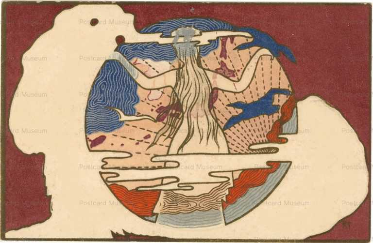 ar018-地図と女性