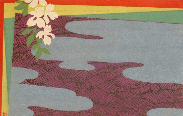 ar071-雲と花
