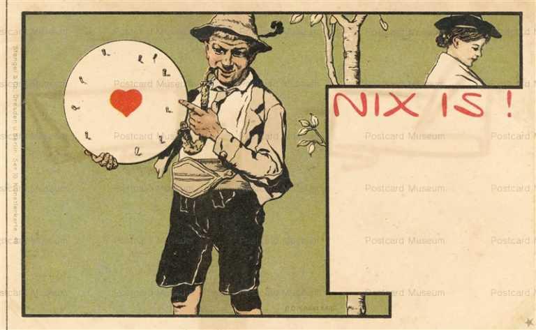 art030-R O Engelhard Nixis Clock Heart