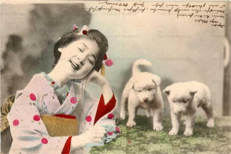 ba001-犬と少女