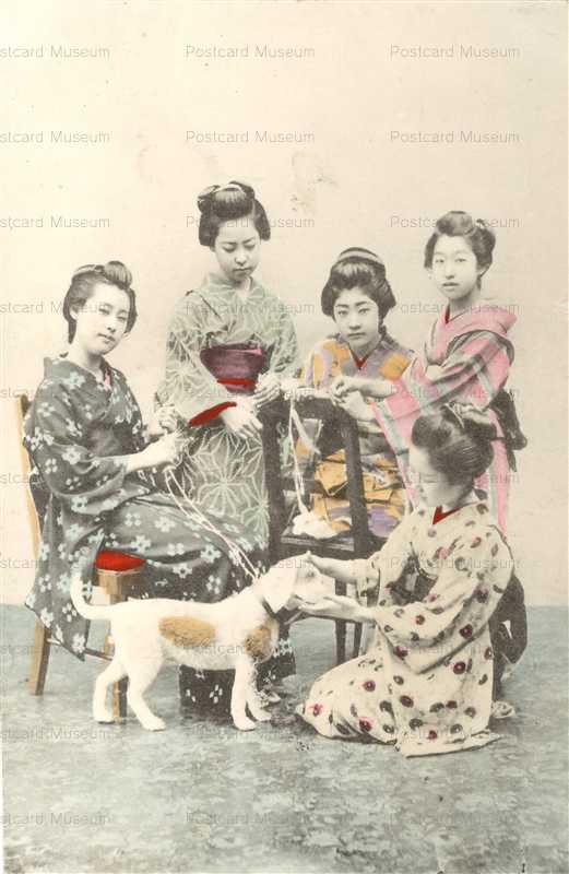 ba040-犬と女性達