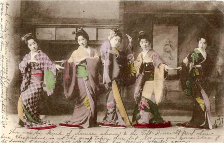 bg230-元禄踊り五人