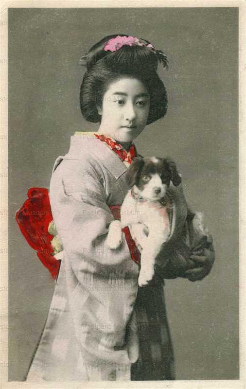 bm004-萬龍と犬