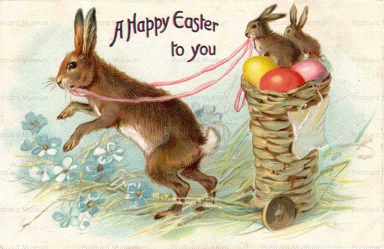 e001-Easter 3Rabbits