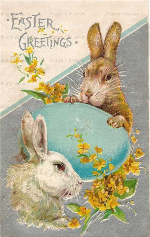 e005-Easter 2Rabbits