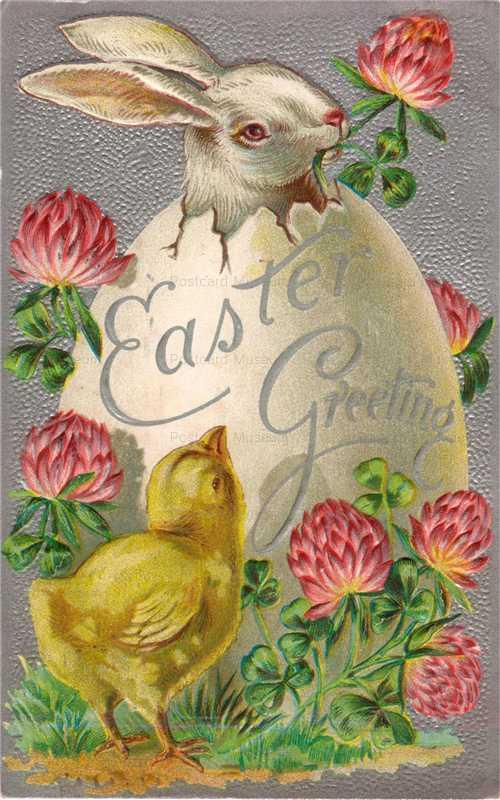 e008-Easter Rabbit&Egg