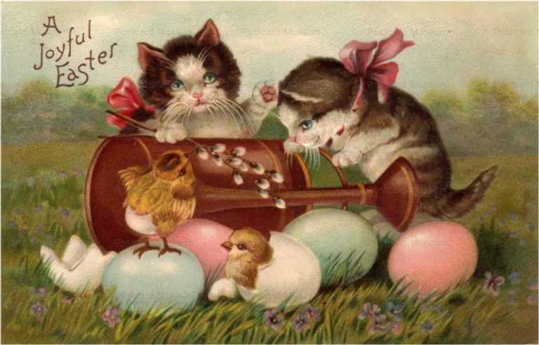 e010-Easter 2Cats