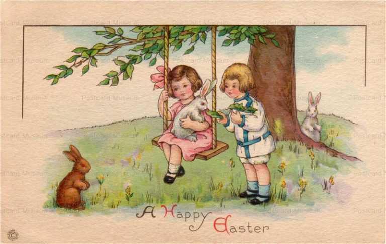 e015-Easter 3Rabbits