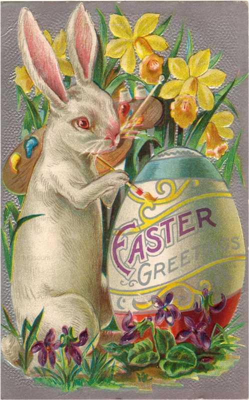 e019-Easter Paint Egg