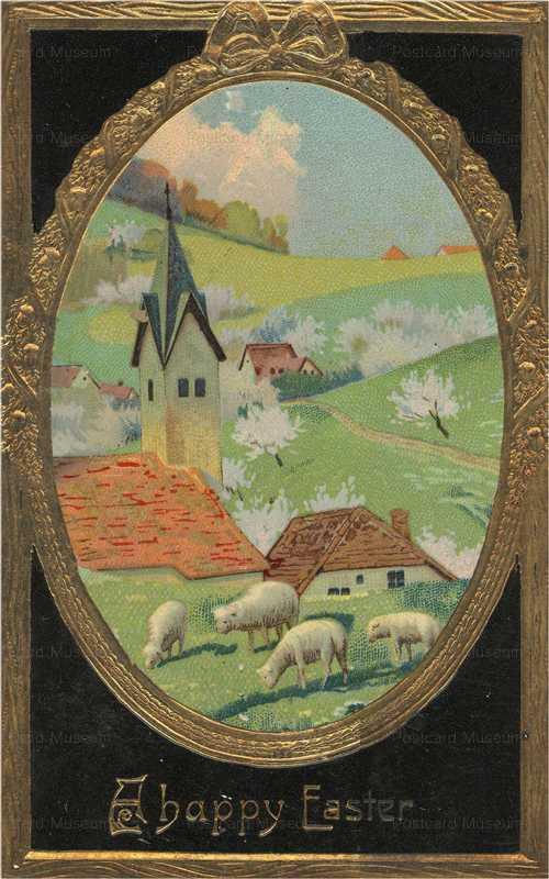 e320-Happy Easter Sheep