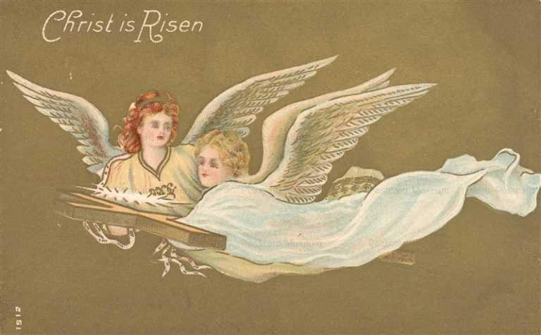 e430-Easter Angel Carry Cross