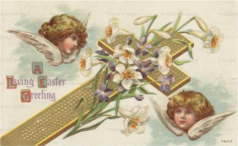 e460-Easter Angel Cross