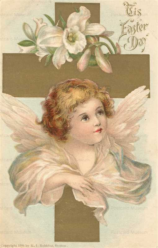 e490-Beautiful Angel Cross Lillies