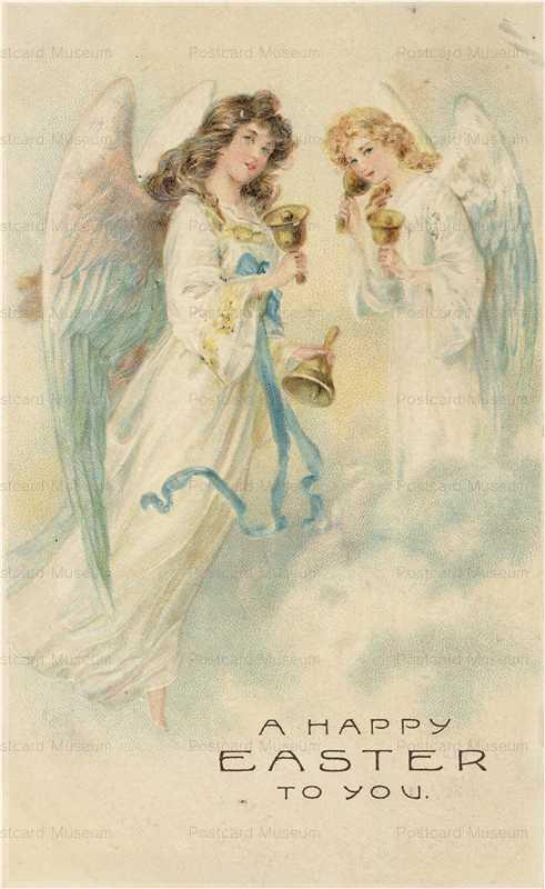 e510-Easter Anmgels Ringing Bells