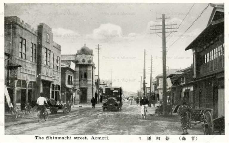 eb070-Shinmachi Street Aomor青森新町通り