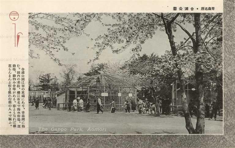 eb195-Gappo Park Aomori 合浦公園 青森