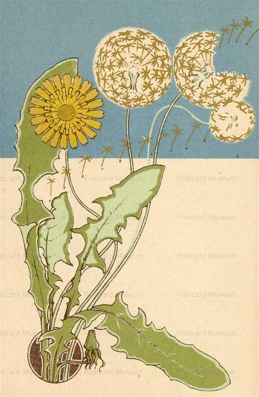 em013-Dandelion Litho