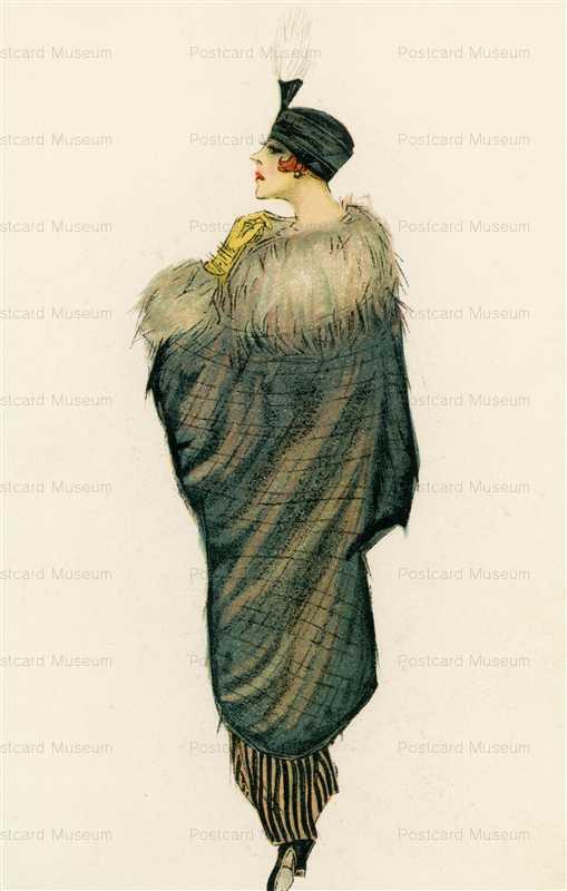 fa124-Shawl Glamour Italian Art Deco