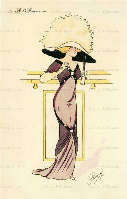 fa220-Plum American Fashion Lace Hat Lady Tight Dress