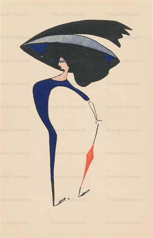 fa360-Glamour Lady Super Thin & Huge Hat