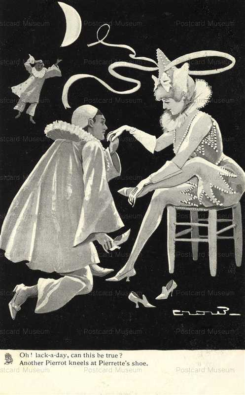 fc010-Pierrot Scene Oh Lack a Day artist Crow Tuck 767