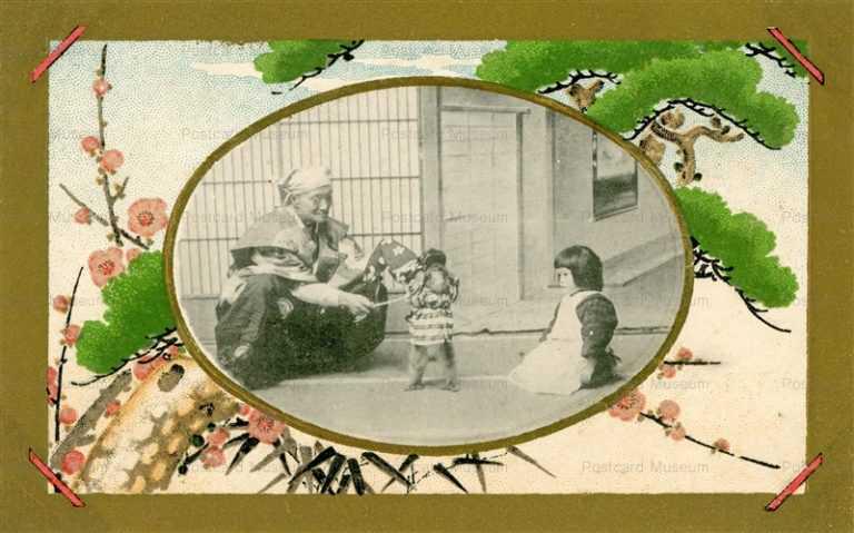 fd506-猿回しと子供