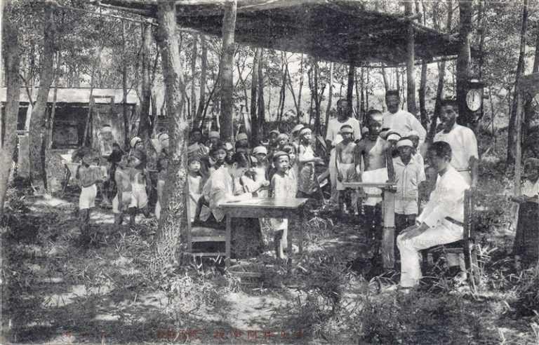 fga060-野性林間学校 体重検査