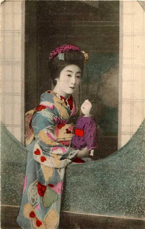 fi005-市松人形 窓