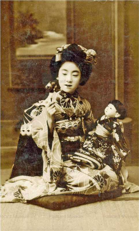 fib004-市松人形 舞妓