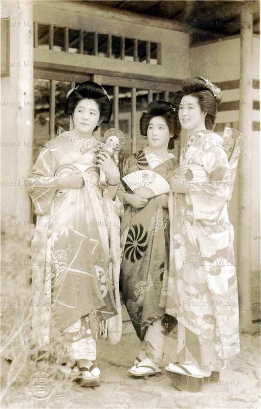 fib016-文化人形と着物美人