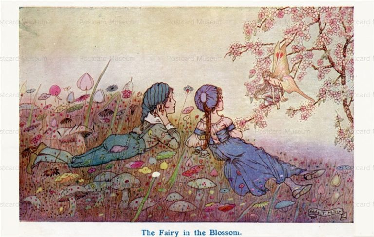 fo121-Hilda T.Miller Fairy in the Blossom
