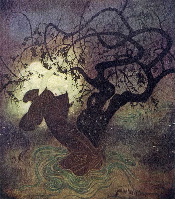 fo126-Edmond Dulac the Buried Moon Fairy Book
