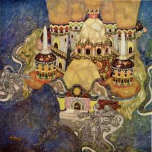 fo134-Edmond Dulac the Story of Bashtchelik Palace Fairy Book