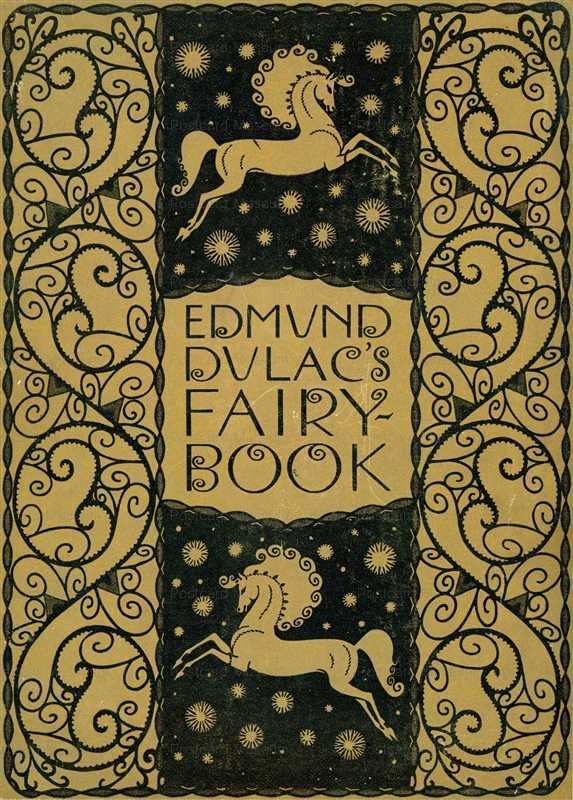 fo150-Edmund Dulac's Fairy Book Cover