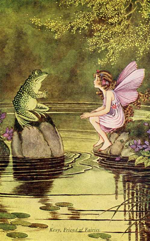 fo230-Ida Rentoul Outhwaite Kexy Friend of Fairies